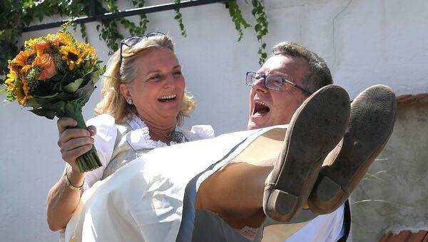 Karin Kneissl et Wolfgang Meilinger - Sputnik France