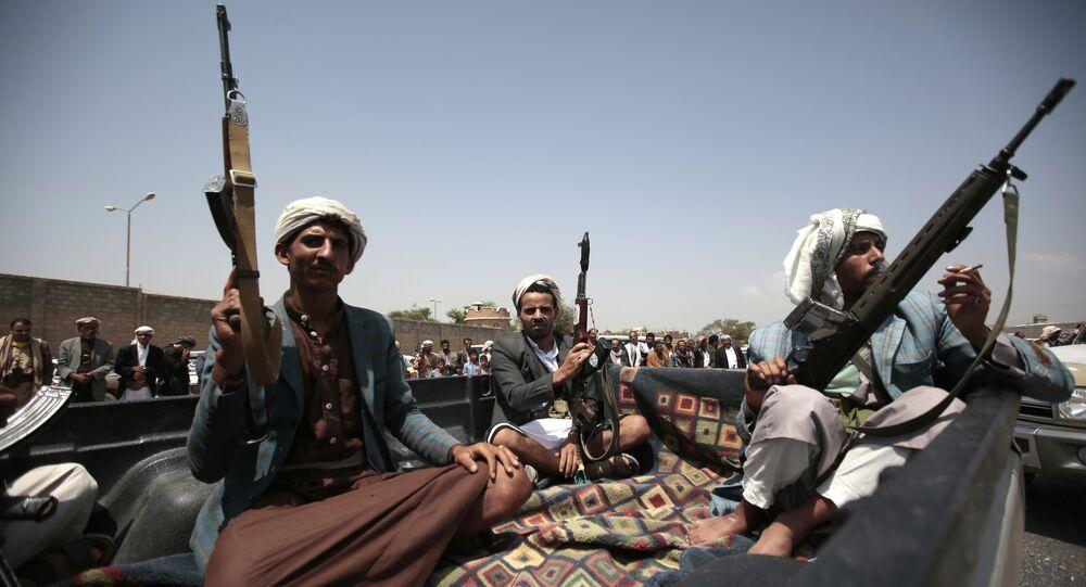 Des Houthis au Yémen, image d'illustration