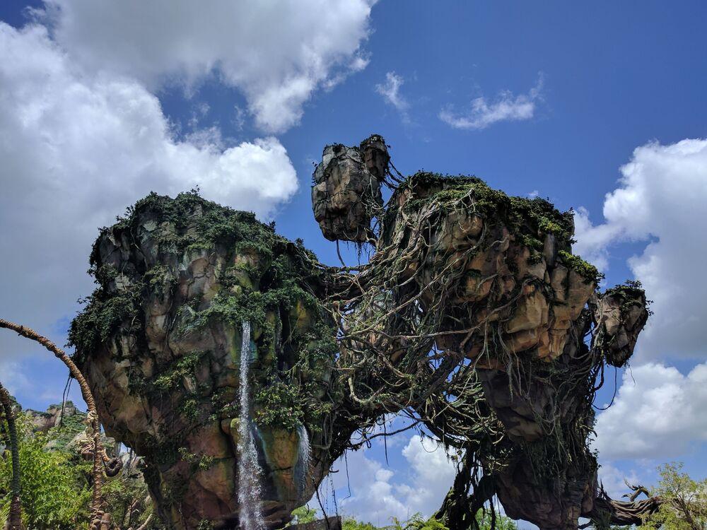 Le parc à thème Pandora – The World of Avatar (Pandora – Le Monde d'Avatar) en Floride.