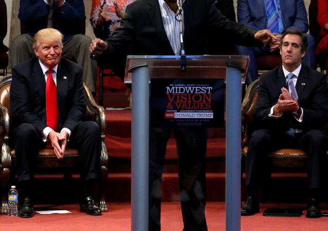 Donald Trump et Michael Cohen