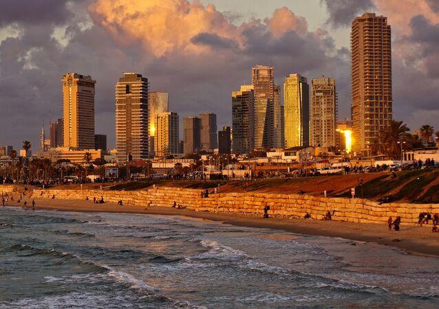 Tel Aviv, la capital d' Israel