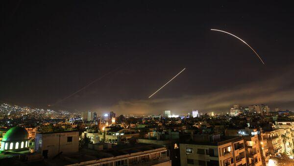 Frappes en Syrie menées par Washington, Paris et Londres en avril 2018 - Sputnik France