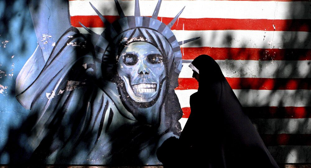 Image de la statue de la Liberté en Iran (image d'archive)