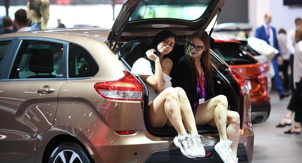 Salon  de l'automobile de Moscou