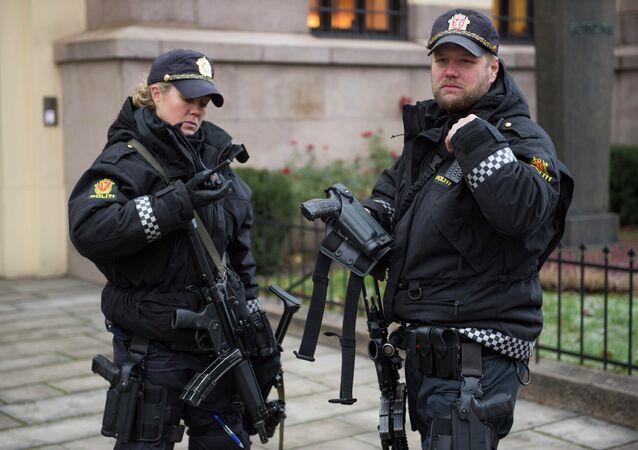 La police norvégienne (image d'illustration)