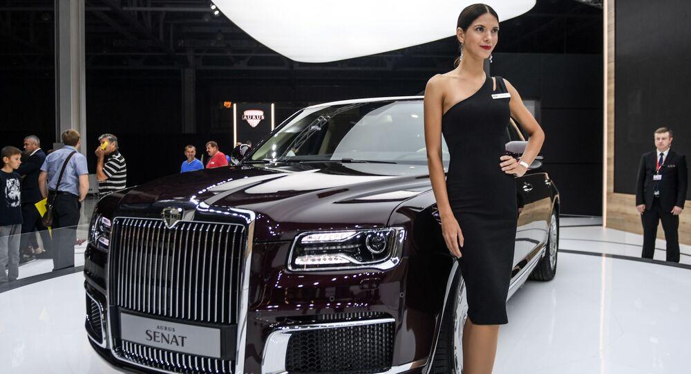 Aurus présenté au Moscow International Automobile Salon