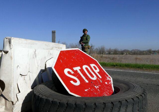 An der Donbass-Grenze (Symbolbild)