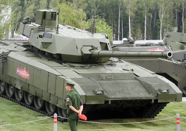 Le char T-14 Armata au forum Armée 2018