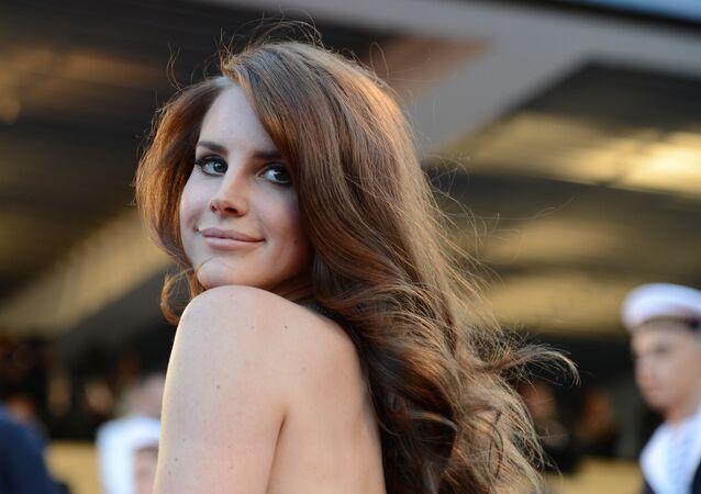 Lana Del Rey au Festival de Cannes en 2012