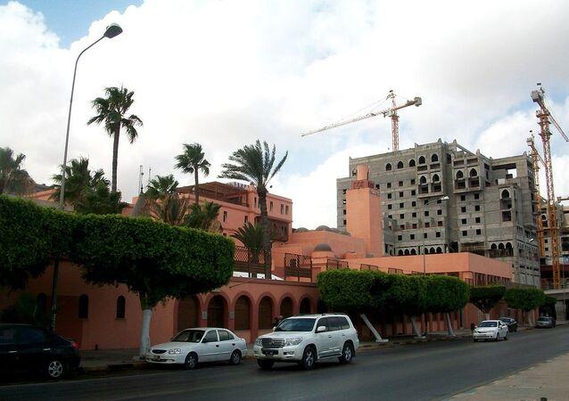 Hôtel libyen Al Waddan à Tripoli