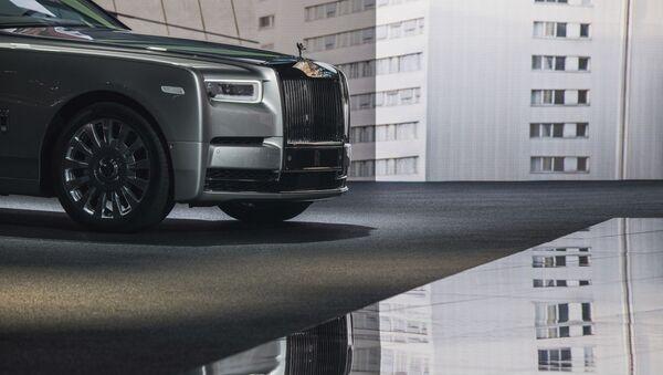 Автомобиль Rolls-Royce на автосалоне во Франкфурте - Sputnik France