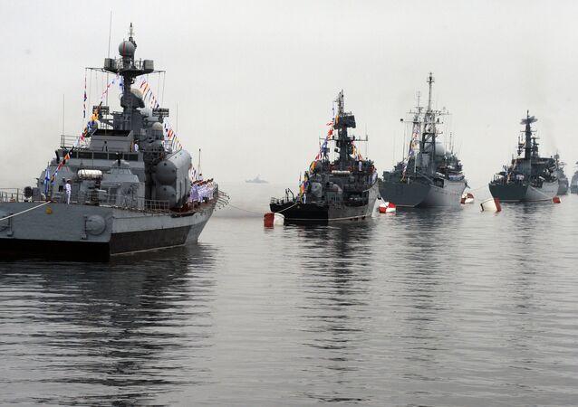 Navires de la Flotte russe du Pacifique