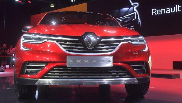 Renault Arkana au Salon international de l'automobile de Moscou - Sputnik France