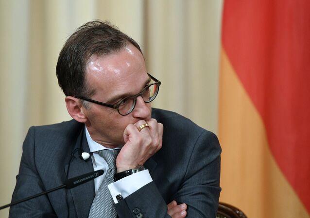 Le chef de la diplomatie allemande Heiko Maas