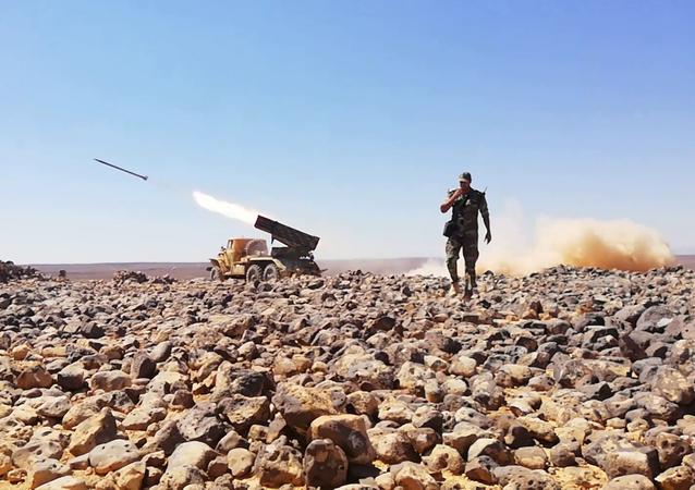 Syrie: le champ volcanique d'al-Safa transformé en champ de bataille