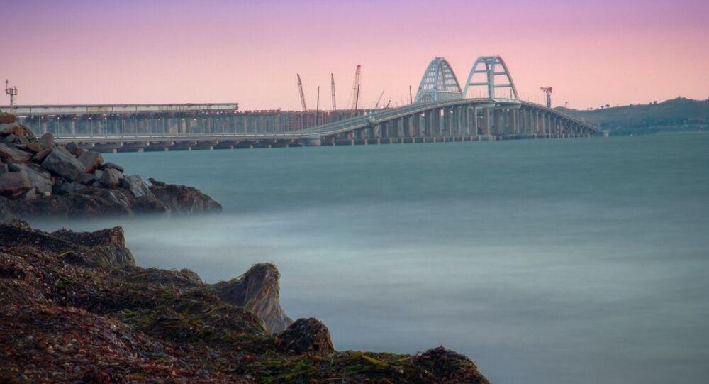 Pont de Crimée. Photo d'archive