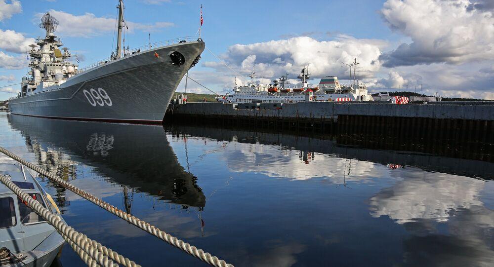 Le croiseur nucléaire russe Piotr Veliki
