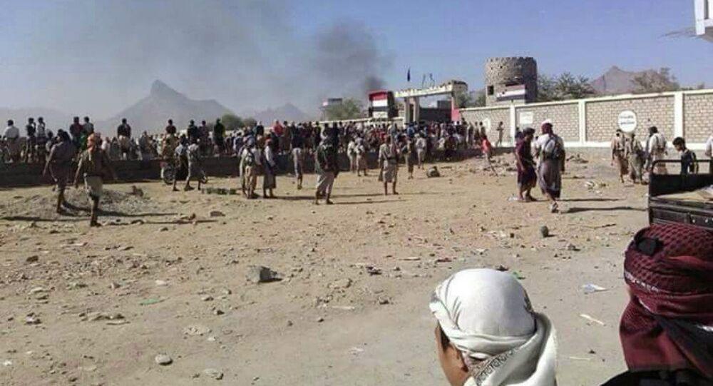 Des combattants d'Al-Qaida au Yémen