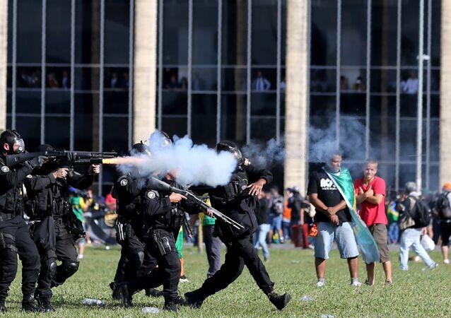 Police brasilienne