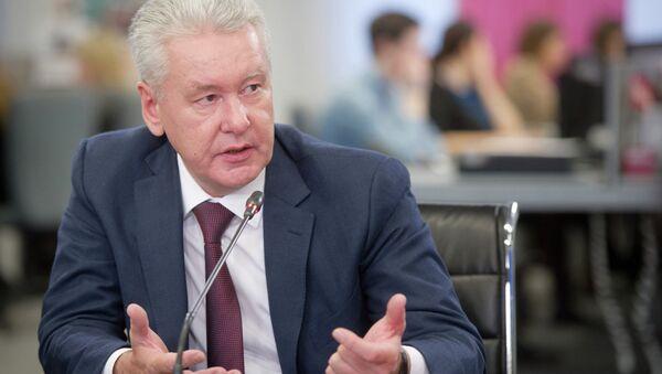 С.Собянин дал интервью газете Вечерняя Москва - Sputnik France
