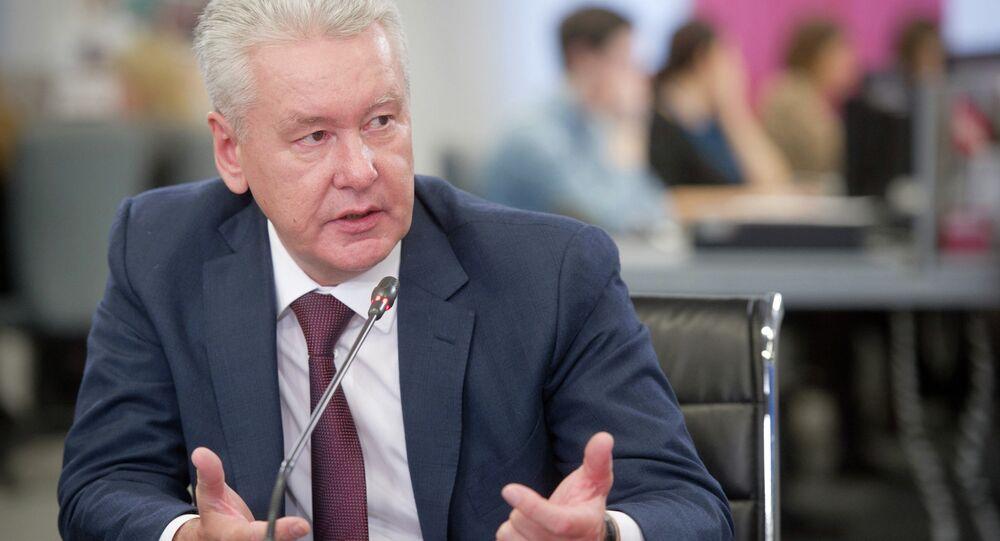 С.Собянин дал интервью газете Вечерняя Москва