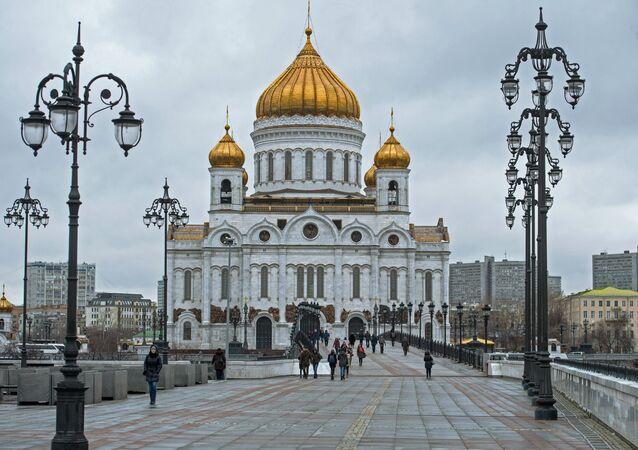 Cathédrale du Christ-Sauveur à Moscou