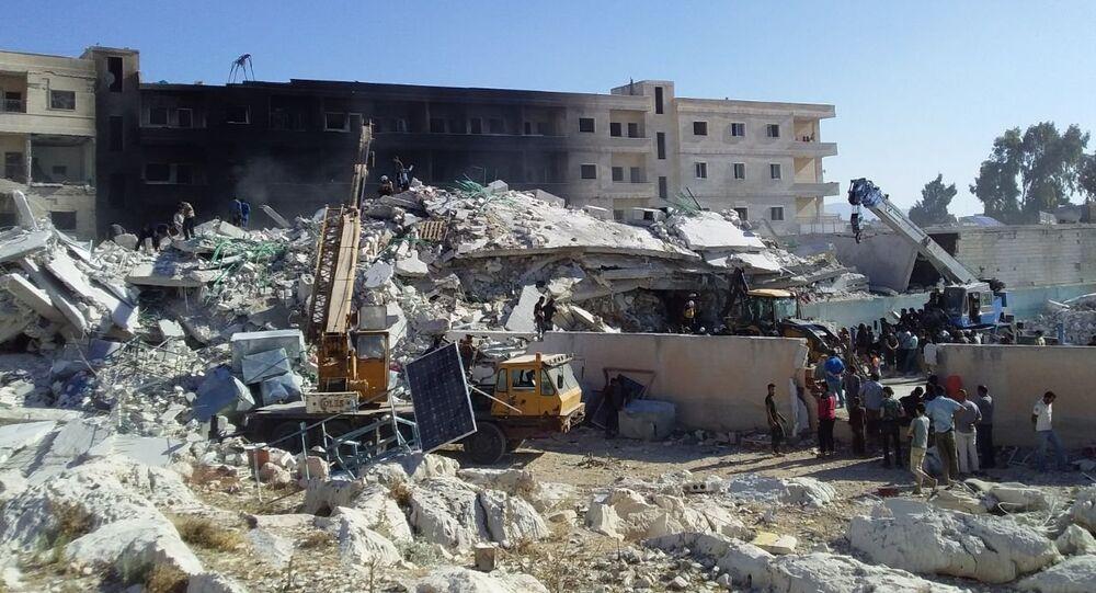 Destructions à Idlib
