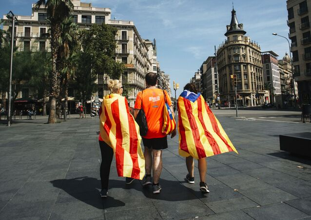 Les manifestations à Barcelone