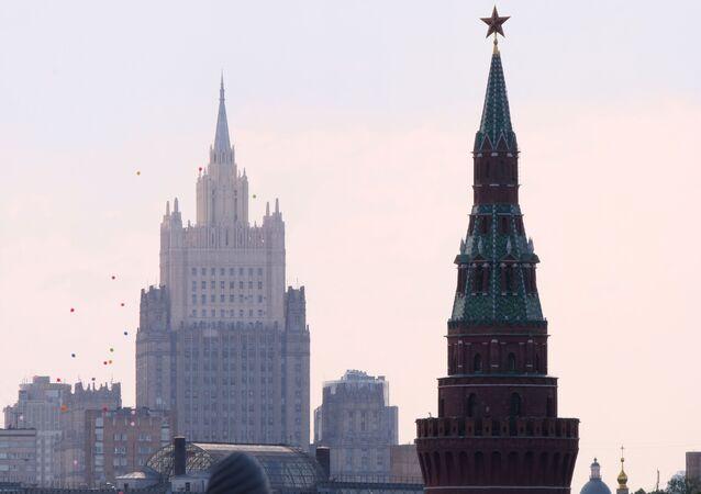 Le Kremlin et le ministère russe des Affaires étrangères
