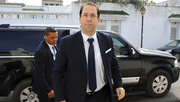Youssef Chahed, le chef du gouvernement tunisien - Sputnik France