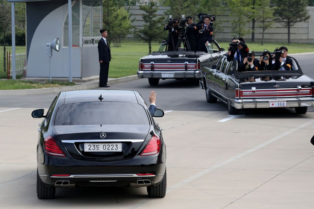 La visite du Président de la République de Corée Moon Jae-in en Corée du Nord