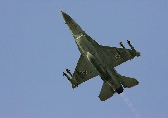Un F-16 israélien, image d'illustration