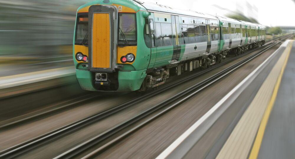 Un train (image d'illustration)