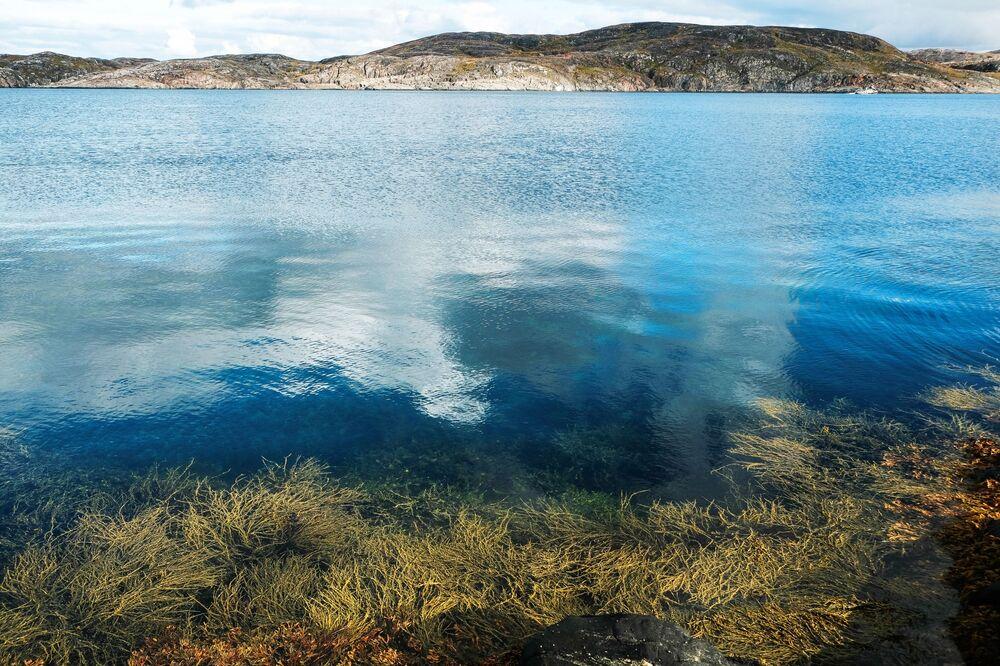 Région de Mourmansk: les couleurs d'automne au-dessus du cercle polaire