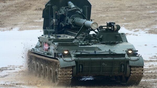 Le mortier automoteur de 240 mm 2s4 Tulpan - Sputnik France