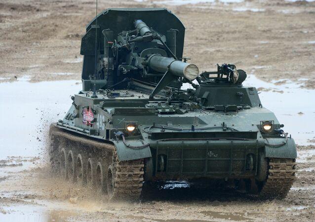 Le mortier automoteur de 240 mm 2s4 Tulpan