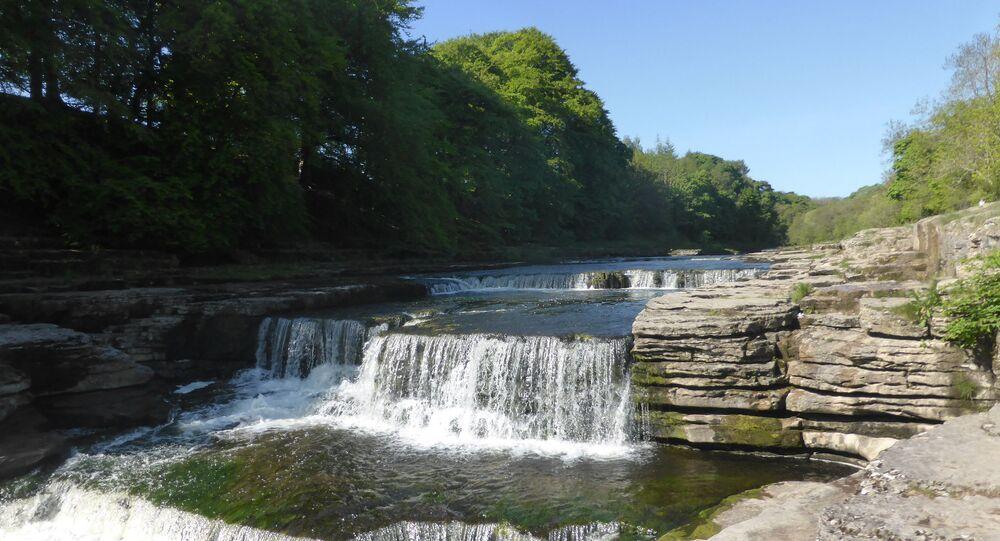 Aysgarth Falls, le parc national des Yorkshire Dales