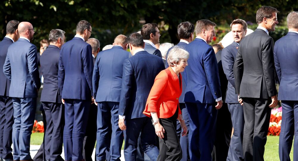 Le sommet de Salzbourg des chefs d'Etat et de gouvernement de l'Union européenne
