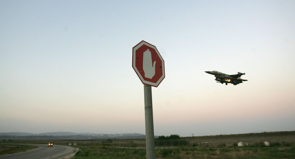 Un chasseur israélien F-16 (archive photo)