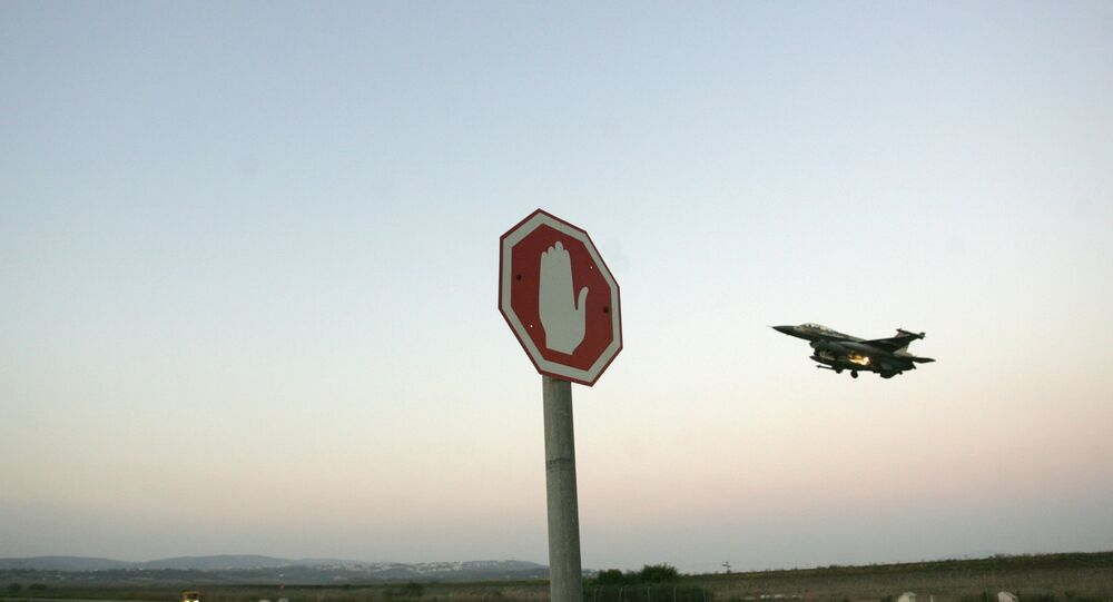 Un chasseur israélien F-16 (archive photo)