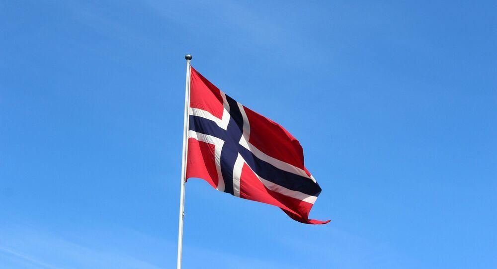 Le drapeau norvègien