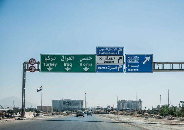La route vers Homs