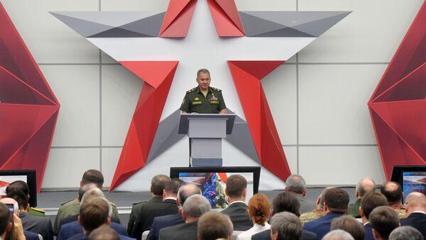 Minister Obrony Rosji Siergiej Szojgu - Sputnik France