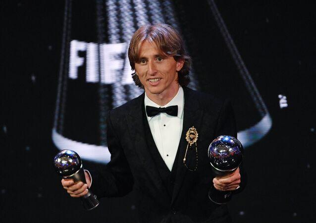 Luka Modric sacré meilleur joueur de l'année