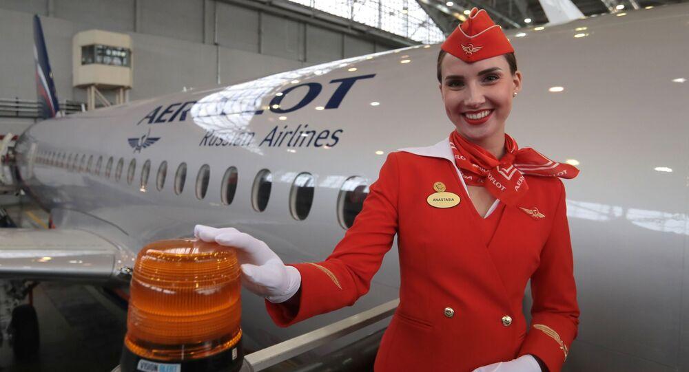 50e avion de Sukhoi Superjet 100 pour la compagnie aérienne russe Aeroflot