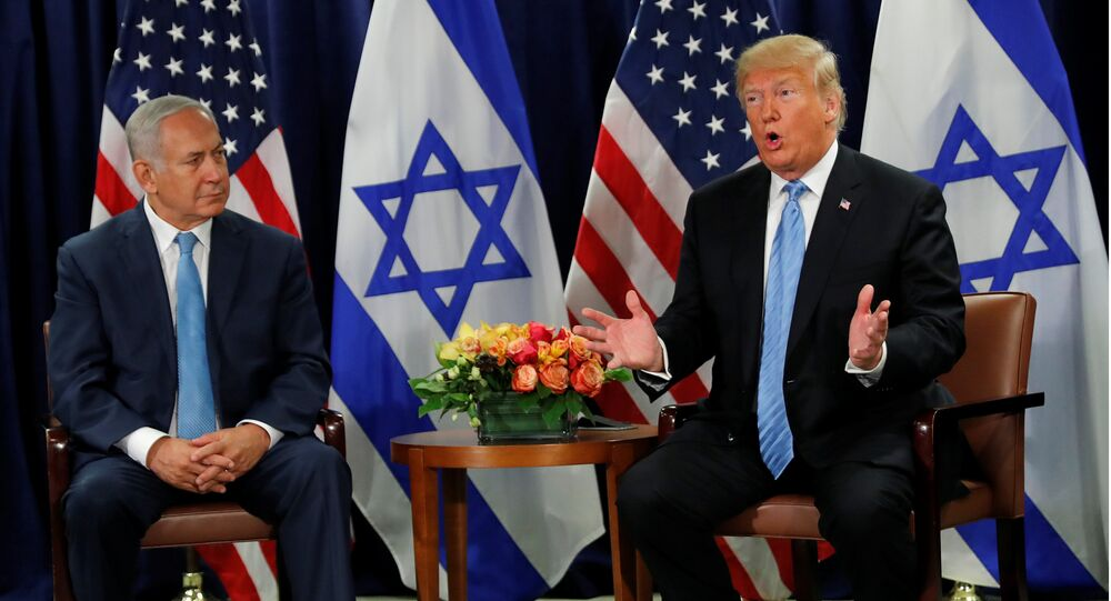 Benjamin Netanyahu et Donald Trump à New York