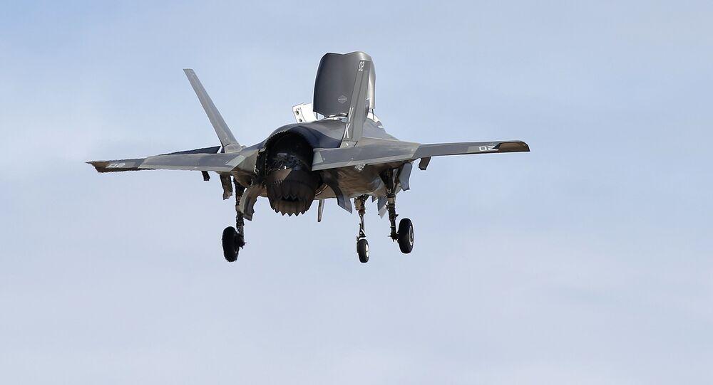 Un chasseur F-35B