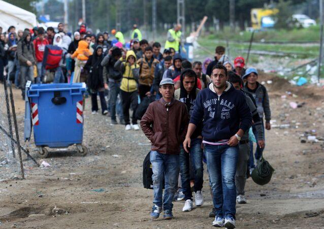 Des migrants (Image d'illustration)
