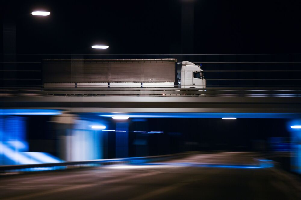 L'ouverture du pont de Crimée à la circulation des camions