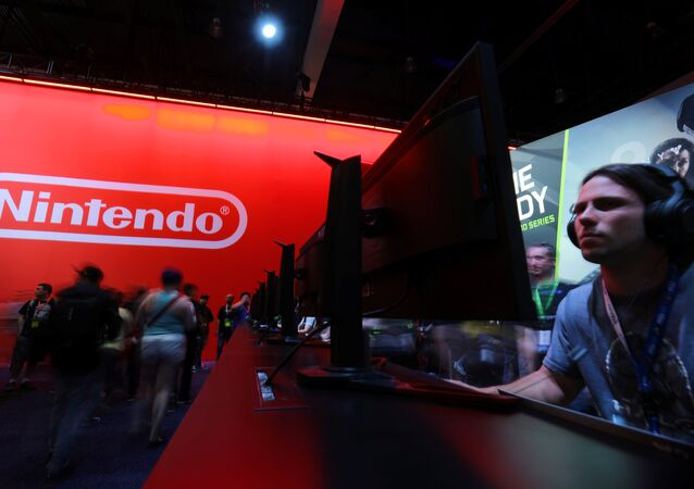 Le stand Nintendo à l'E3 de Los Angeles, Californie le 13 juin 2017.  REUTERS/ Mike Blake